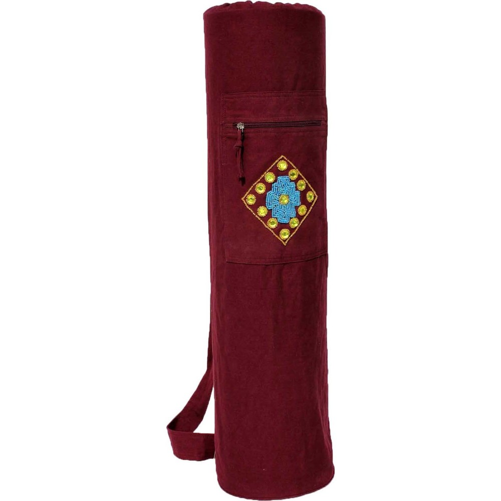 YMB062 Mirror & Beadwork Mat Bag