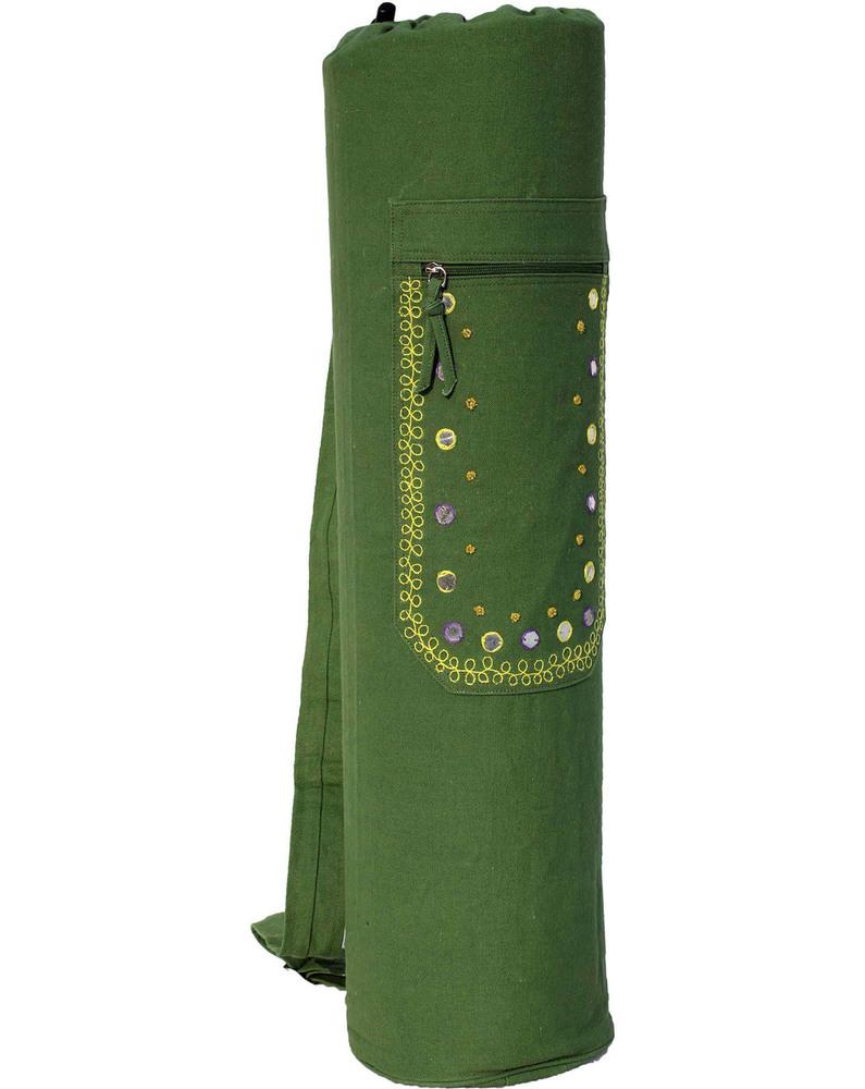 YMB063 Mirror & Beadwork Mat Bag