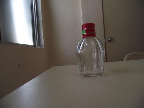 Perfume Empty Glass Bottle