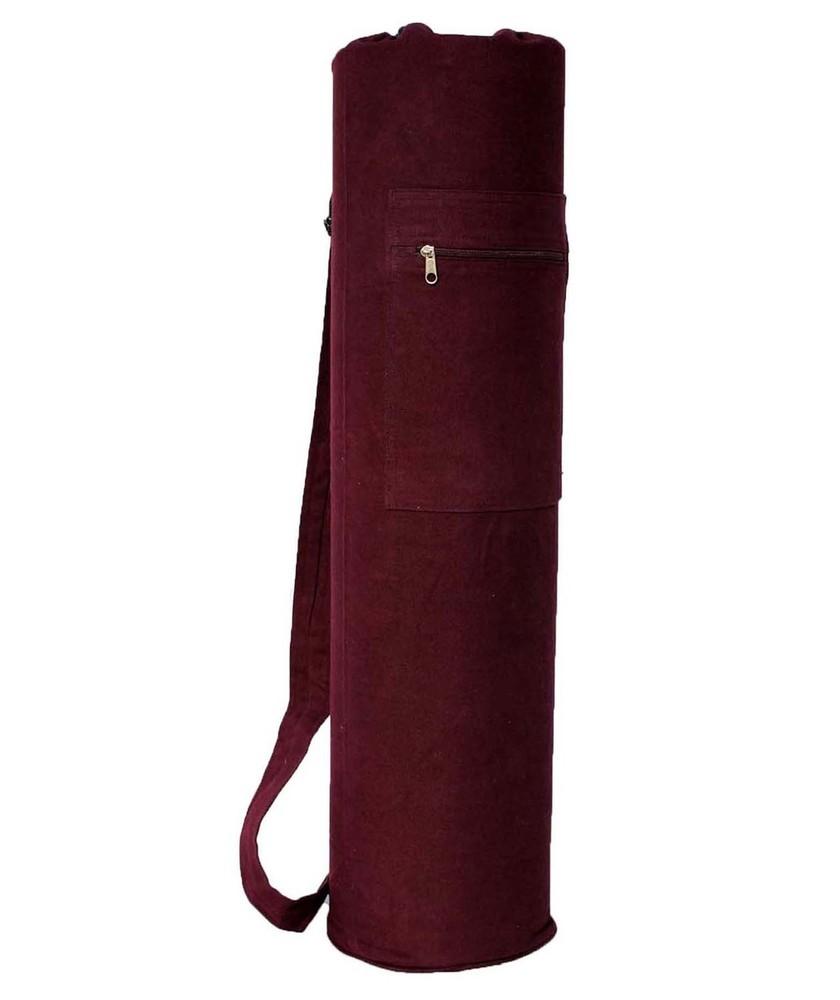 YMB113 Solid Brown Mat Bag