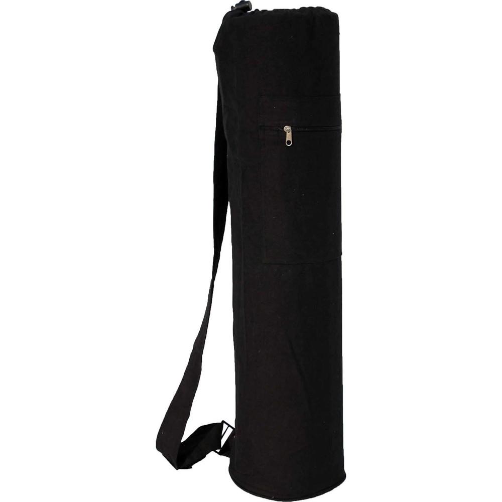 YMB114 Solid  Black Mat Bag