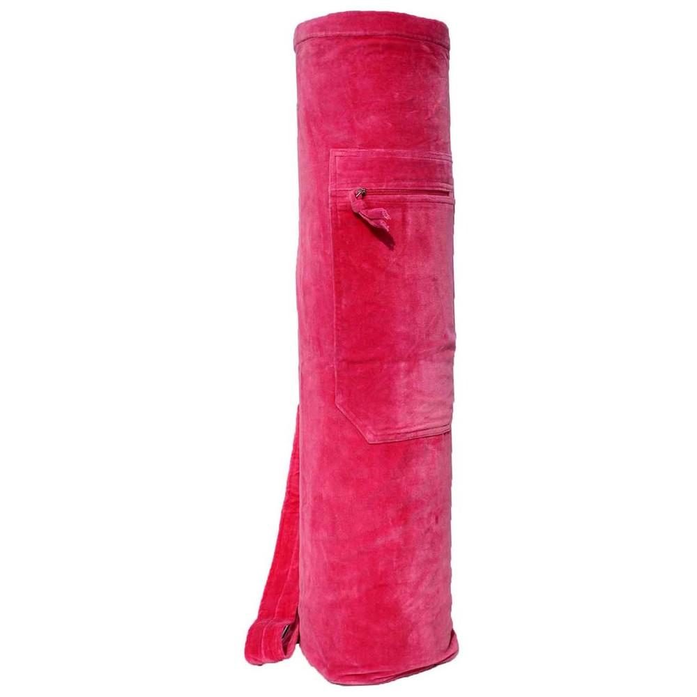 YMB-124 Pink Velvet Mat Bag