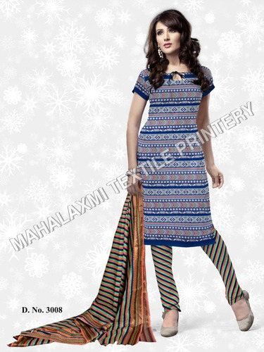 Cotton Suits Material in Jetpur