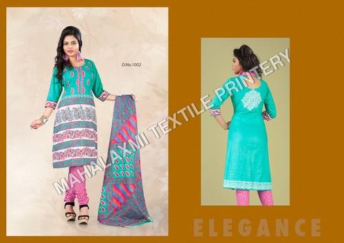 Trends Cotton Salwar Kameez Material