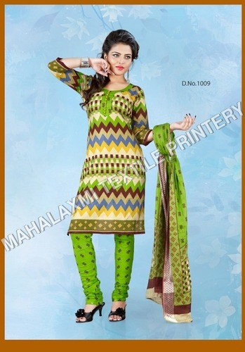 Indian Cotton Salwar Kameez Materials