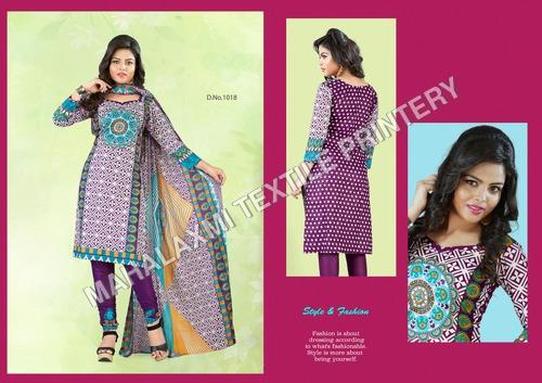 Indian 100% Cotton Salwar Materials
