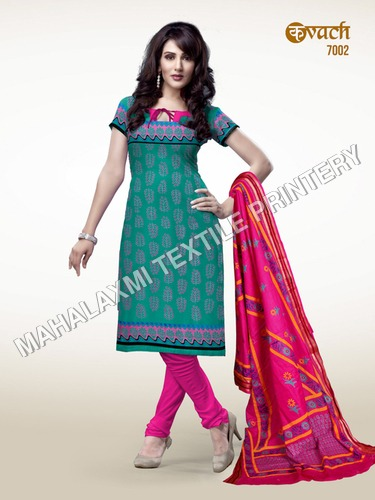 India Casual Wear Cotton Salwar Kameez