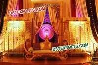 MUGHAL WEDDING STAGE SET