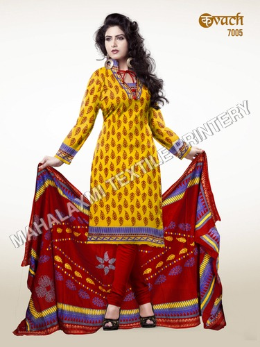 Kavach Cotton Salwar Suit