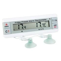 Freezer Thermometer Dual Sensor