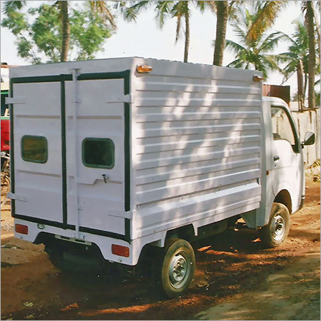 Commercial Vehicle Container