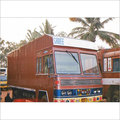 Cabin With Container Truck Body Builder