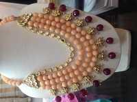 Semi Precious Beaded Necklace