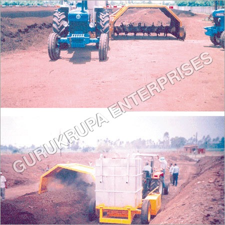 Windrow Turning Machine
