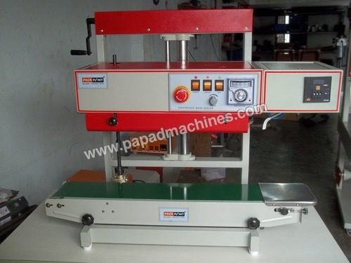 Continuous Bag Sealing Machine with Nitrogen Flush  attachment