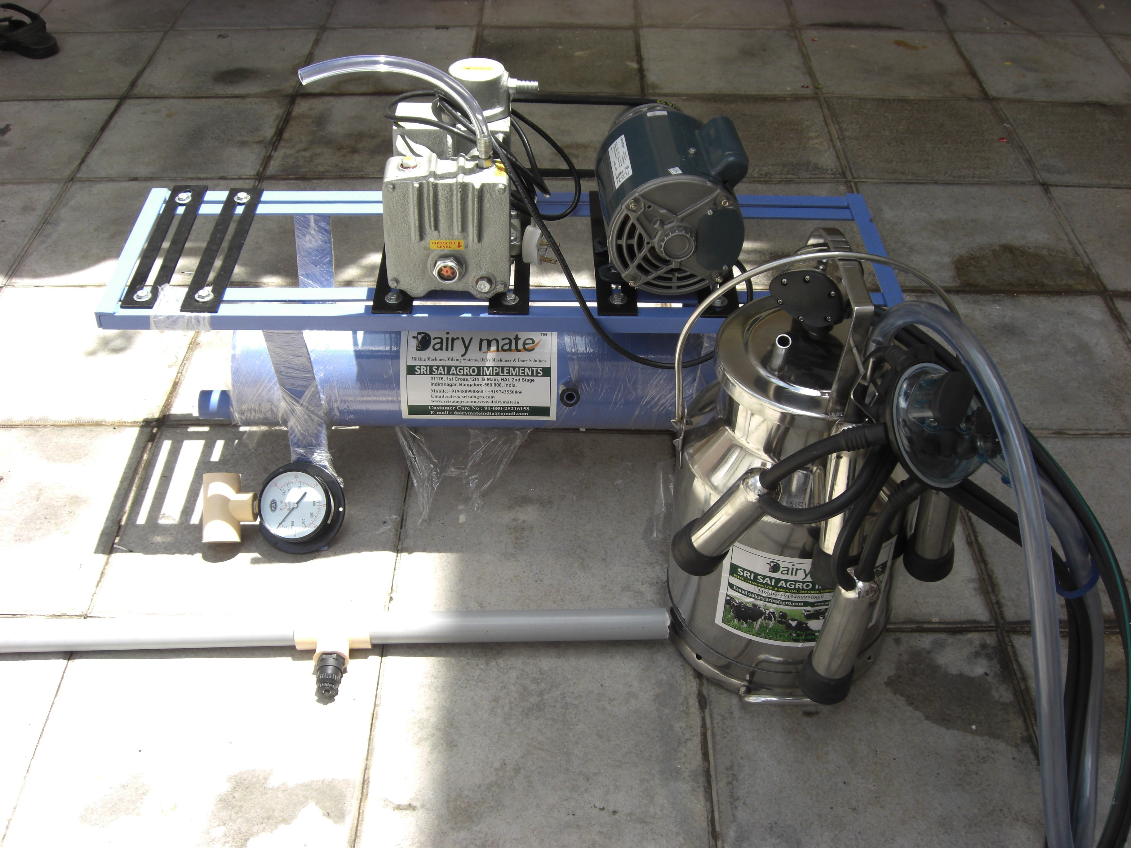 Single Can Fixed Type Motor Operated