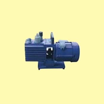 Double Stage High Vacuum Pumps