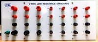 Four Wire Low Resistance Standards