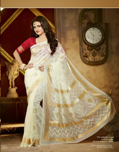 RASMI DESAI DESIGNER BHAGALPURI SAREE FOR ALL