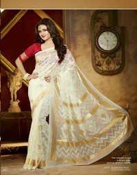 Rasmi Desai Designer Bhagalpuri Saree For All
