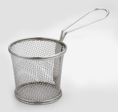 MINI SERVING TAPERED BASKET ROUND