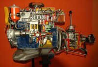 CAR ENGINE CUT MODEL DIESEL