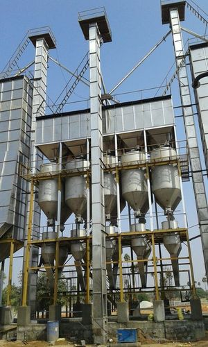 2 stage parboiling plant