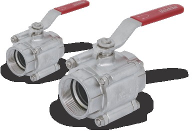 I.C 304/316 BALL VALVE SCREWED ENDS