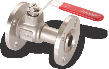 I.C 304/316 1 PCS BALL VALVE FLANGED ENDS