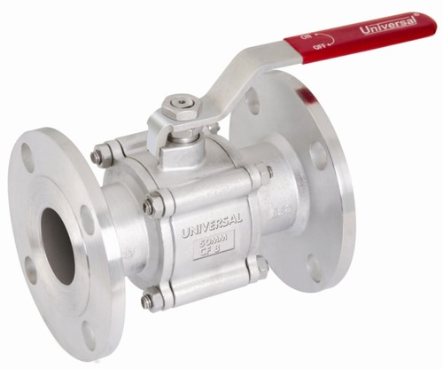 I.C 304/316 BALL VALVE FLANGED ENDS