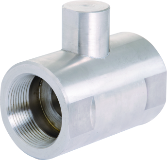 S.S HORIZONTAL CHECK VALVE SCREWED ENDS