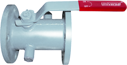 S.S JACKETED BALL VALVE FLANGED ENDS