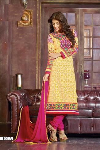 Designer Churidar Salwar Suit