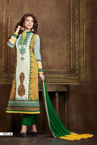 Ethnic Churidar Salwar Suit