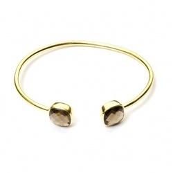 Smoky Topaz Gemstone Bracelet