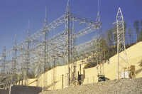 33 KV Transformer Substation Structure