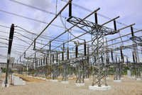 Electric Substation Structure