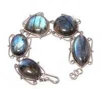Labradorite Gemstone Bracelete