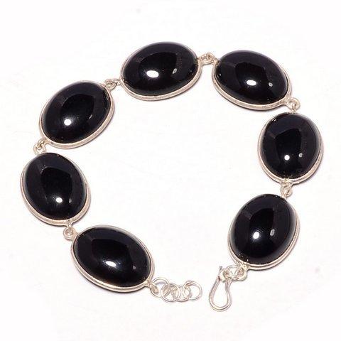 Black Onyx Gemstone Bracelete