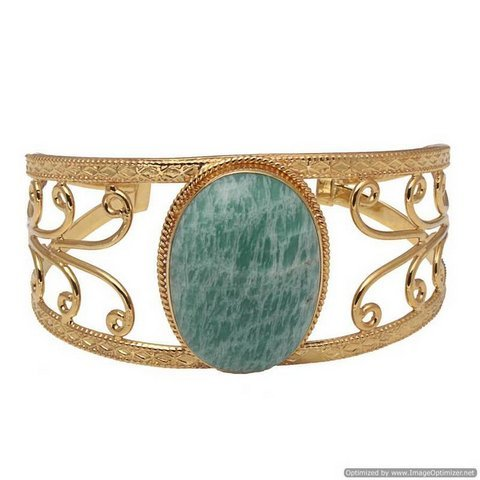 Amzonite Gemstone Bracelet