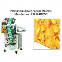 Potato Chips Pouch Packing Machine