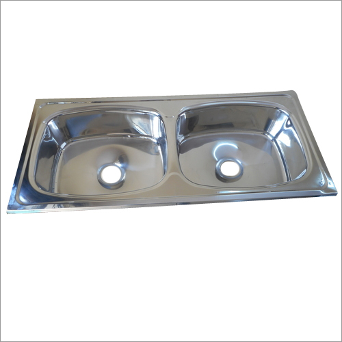 Double Bowl Straight Sink