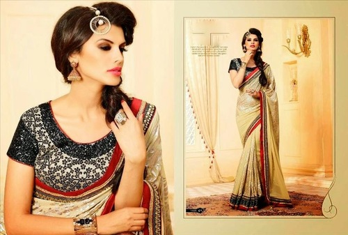 Vintage Fancy Party Collection Saree In Amazing Price