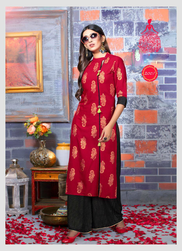 Black Designer Party Wear Kurti