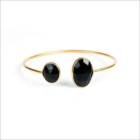 Black Onyx Gemstone Bracelete