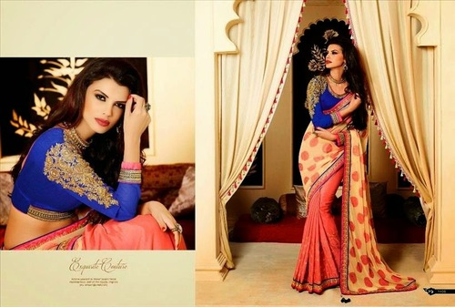 Attrective View Saree For Wedding And Party Wear