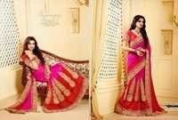 New Arrival Shaded Georgette Saree