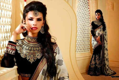Fancy Marriage Wear Saree In Low Price