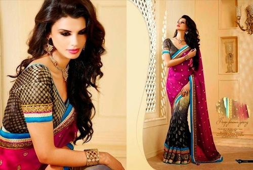 New Arrival Fancy Stone Work Sari