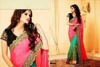 Latest Saree With Heavy Stone Work